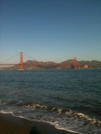 Beach at Crissy Field